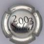 Marque : SABAT  N° Lambert : NR vetrso Couleur : Polychrome  Description : Coupes et champagne - nom de la marque au verso  Emplacement :