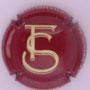 Marque : FIR Stéphane N° Lambert : 1.2 Couleur : Bordeaux et crème Description : Initiales et nom de la marque  Emplacement :