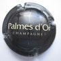 Marque : FEUILLATTE Nicolas N∞ Lambert : 34 Couleur : Noir et inscription en lettres crème Description : Cuvée Palmes d'Or  Emplacement :