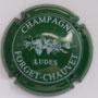 Marque : FORGET - CHAUVET N° Lambert : 1 Couleur : Vert et blanc Description : Grappes de raisins et  nom de la marque Emplacement :