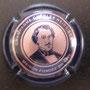 Marque : HEIDSIECK Charles N° Lambert : 70a Couleur :  Cercle central intérieur Or. Noir et rosé Description : Portrait Charles Hiedsieck  Emplacement :