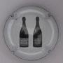 Marque : RICHARD - FLINIAUX N° Lambert : 14n verso Couleur : Fond noir, lettre rouge et blanche Description : lettres N - 2 bouteilles  Emplacement :