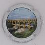 Marque : FANIEL - FILAIRE N° Lambert : 39a Couleur : Polychrome Description : Pont du Gard - Nom de la marque  Emplacement :