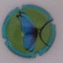 Marque : SOURDET - DIOT N° Lambert : NR5 Couleur : Polychrome Description : Papillon - nom de la marque  Emplacement :