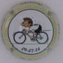 Marque : ROUYER Philippe N° Lambert : 25c Couleur : Blanc, contour crème Description : Tour de France 2014 passage en Belgique - nom de la marque    Emplacement :