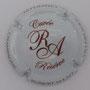Marque : ROBERT - ALLAIT  N° Lambert : 30b Couleur : Blanc et marron Description : Cuvée réservée - Initiales stylisées - nom de la marque  Ref perso :
