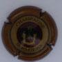 Marque : SERMIERS N° Lambert : 13 Couleur : Contour Bordeaux, striée Description : Blason couronné - nom de la marque  Emplacement :