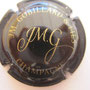 Marque : GOBILLARD JM & fils N° Lambert : NR Couleur : Noir et or Description : Initiales stylisées  Emplacement :