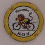 Marque : ROUYER Philippe N° Lambert : 21 Couleur : Fond blanc, contour jaune Description : 100 ans du Tour des Flandres - 31 mars 2013 Emplacement :