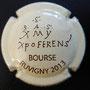 Marque : COLLON MICHEL N° Lambert : 11 Couleur : Fond Crème Description : Bourse de Ruvigny 2013  Emplacement :