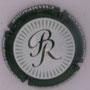 Marque : ROULOT Bruno N° Lambert : 8 Couleur : Blanc, contour Vert  Description : Lettres BR stylisées - nom de la marque sur le pourtour Emplacement :
