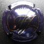 Marque : FOISSY - JOLY N° Lambert : 1 Couleur : Bleu et or Description : Intiales stylisées surmontées d'une couronne  Emplacement :