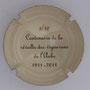 Marque : SONNET Jacques N° Lambert : 9 verso Couleur : Crème et noir Description : Centenaire de la révolte des vignerons de l'Aube - 1911 - 2011  Emplacement :
