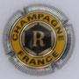 Marque :  ROTHSCHILD N° Lambert : 4 Couleur :  Or, jaune et acier. Striée Description : Lettre R dans un hexagone.   Emplacement : 094-08-01