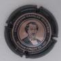 arque : HEIDSIECK Charles N° Lambert : 70b Couleur : Cercle central intérieur rose. Rosé et métal 32mm Description : Portrait Charles Hiedsieck  Emplacement :