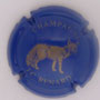Marque : RENARD JC N° Lambert : NR Couleur : Fond bleu, dessin or Description : Renard - nom de la marque  Emplacement :
