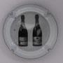 Marque : RICHARD - FLINIAUX N° Lambert : 14j verso Couleur : Fond noir, lettre rouge et blanche Description : lettres N - 2 bouteilles  Emplacement :
