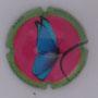 Marque : SOURDET - DIOT N° Lambert : NR2 Couleur : Polychrome Description : Papillon - nom de la marque  Emplacement :