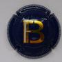 Marque : FORGET - BRIMONT N° Lambert : 3 Couleur : Fond bleu Description : Initiales FB Emplacement :