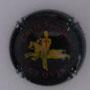 Marque : REVOLTE Gaston N° Lambert : 10 Couleur : Noir, or et rouge Description : Cuvée Clovis - nom de la marque Emplacement :