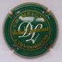 Marque : LOURDEAUX Didier N° Lambert : 13 Couleur : Vert et or Description : Initiales DL et nom de la marque  Emplacement :