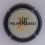 Marque : FOURRIER Philippe N° Lambert : 23a Couleur : Contour bleu-noir Description : Initiales stylisées et nom de la marque  Emplacement :
