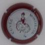 Marque : DELOT N° Lambert : 5 Couleur : Fond blanc, contour bordeaux Description : Cuvée Montre-Cul Emplacement :