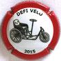 Marque : DOURY Philippe  N° Lambert : 83 Couleur : Contour rouge Description : Défi vélo 2015 - nom de la marque Emplacement :