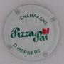 Marque : HERBERT Didier N° Lambert : 2 Couleur : Fond blanc, écriture verte Description : Restaurant Pizza Paï  Emplacement :