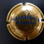 Marque : HEIDSIECK MONOPOLE N° Lambert : 59 - type 1 foncé Couleur :  Or, inscription bleue. Diam 30  Description : Inscription Hiedsieck Monopole sur deux lignes  Emplacement : 060-06-01