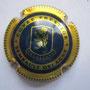Marque :  SEMBAULT - DELAGNE N° Lambert : 6 Couleur :  Or et Bleu Description : Cuvée Prestige  et blason  Emplacement : 098-03-04