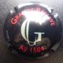 Marque : GOSSET N° Lambert : 43 Couleur : Jeroboam. Noir et blanc  - inscription rouge Description : Grand G pour une cuvée Grande Réserve  Emplacement :