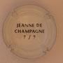 Marque : SERGENT Roger N° Lambert : 1.7 verso Couleur : Polychrome, contour blanc Description : Armoiries Jeanne de Champagne - Nom de la marque Emplacement :