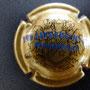 Marque : HEIDSIECK MONOPOLE N° Lambert : 59 - type 2 lettres fines Couleur :  Or, inscription bleue. Diam 29 Description : Inscription Hiedsieck Monopole sur deux lignes  Emplacement : 060-07-01