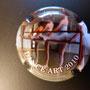 Marque :   HUOT Louis  N° Lambert : 3e Couleur : Fond noir Description : Danse artistique   2010 - 6/6  Emplacement :