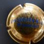 Marque : HEIDSIECK MONOPOLE N° Lambert : 59 - type 1 clair Couleur :  Or, inscription bleue. Diam 30  Description : Inscription Hiedsieck Monopole sur deux lignes  Emplacement : 060-06-03