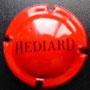 Marque : HEDIARD N° Lambert : 2 Couleur : Rouge et noir Description : Nom de la marque Emplacement :
