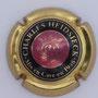Marque : HEIDSIECK Charles N° Lambert : 55 Couleur : Centre rosé - contour or Description : Initiales dans armoiries  Emplacement :