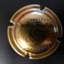 Marque : FEUILLATTE Nicolas N° Lambert : 30c - foncé Couleur :  Or, bronze et noir Description : CHAMPAGNE et lettres NF stylisées   Emplacement : 052-03-04