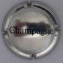 Marque : GENERIQUE N° Lambert : 445 Couleur : Métal, noir  Description : Inscription Champagne Emplacement :