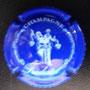 Marque : FREDESTEL N° Lambert : 2e Couleur : Bleu et blanc  - inscription sur le contour Description : Couple et Nom de la marque Emplacement :