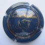 Marque : FEUILLATTE Nicolas N° Lambert : 30 Couleur : Bleu et or Description : CHAMPAGNE et lettres NF stylisées Emplacement : 052-02-04