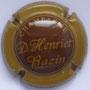 Marque : HENRIET - BAZIN N° Lambert : 9 Couleur : Centre marron, contour marron clair        Description : Nom du producteur  Emplacement :