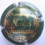 Marque : FEUILLATTE Nicolas N° Lambert : 5 Couleur : Vert et or Description : Champagne et nom du producteur Emplacement : 052-04-05