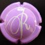 Marque : ROYER Jean-Jacques & Sébastien N° Lambert : 8a  Couleur : violet et blanc   Description : Lettres DR cursives  Emplacement : 096-02-01