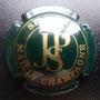Marque :  SECONDE JP N° Lambert : 7 Couleur :  Vert foncé Description : Lettres JPS dans un   cercle   Emplacement :