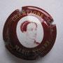 Marque : STUART MARIE N° Lambert : 4 Couleur : Bordeaux et Or Description : Portrait de Marie Stuart  Emplacement : 100-01-02
