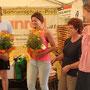 Blumen für's weibliche QMT-Kommitee