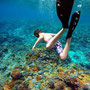 Snorkeling and forget about the world!