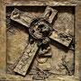 5 Simon von Cyrene hilft Jesus das Kreuz tragen